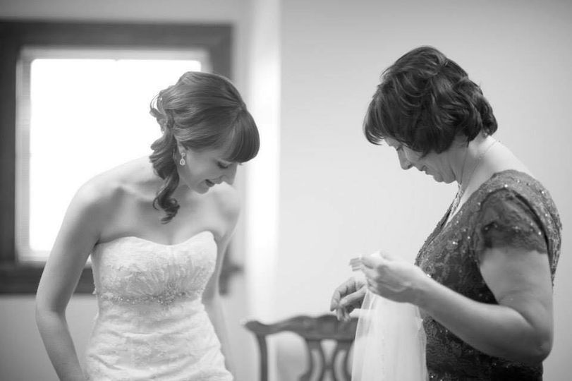 Checking the dress