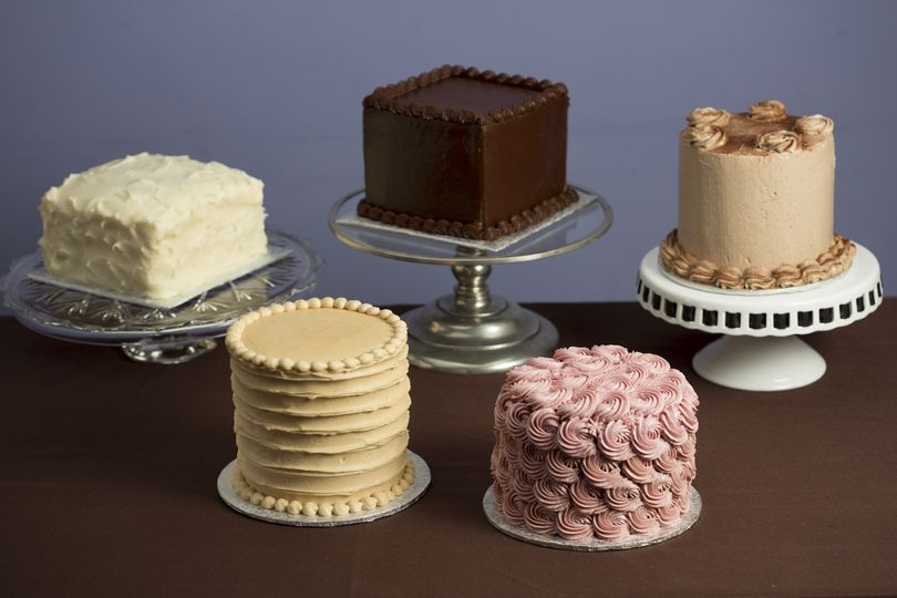 six inch cakes for weddings