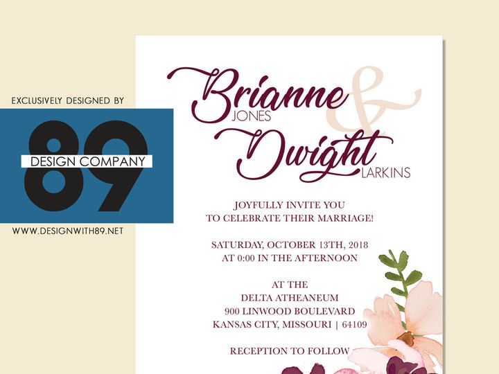 Tmx 1514952313122 Briannewedding Set Lexington wedding invitation