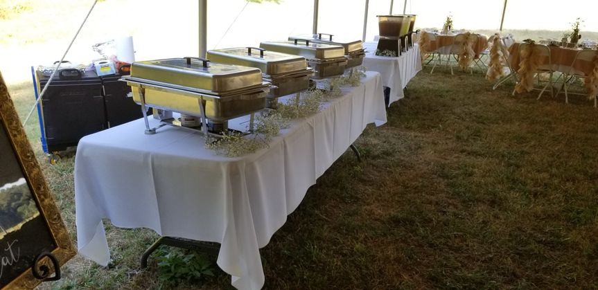 Reception in a Pasture