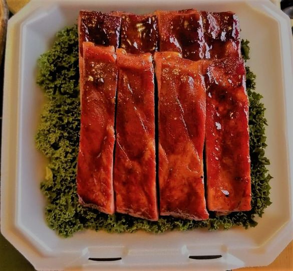 Award-winning ribs