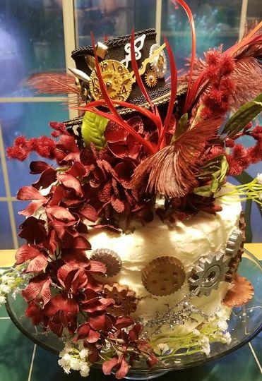 Steampunk Theme cake