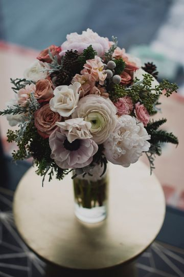 Wintery Mixed Bouquet