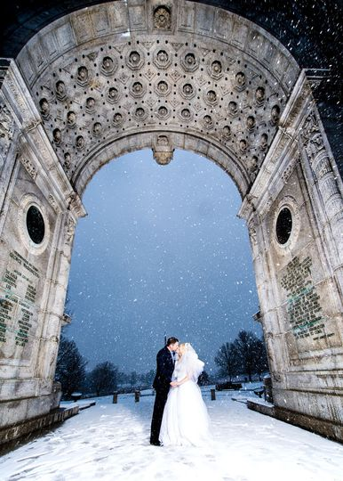 GM Photo Video LLC, Winter wedding shoot, Valley Forge Park, King of Prussia
