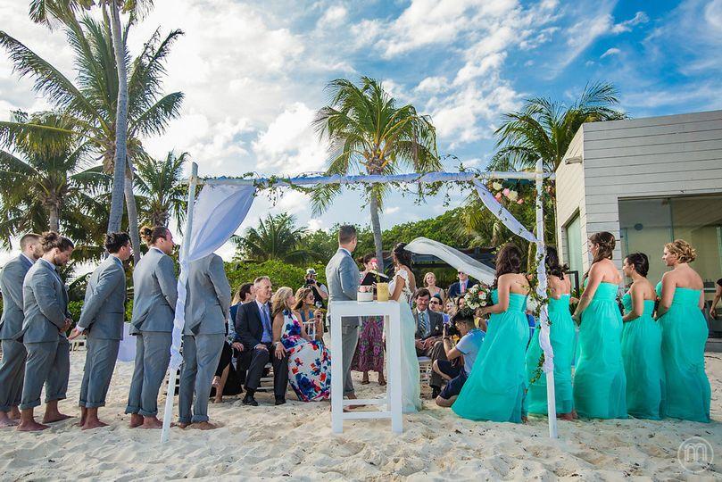 Sandy weddings