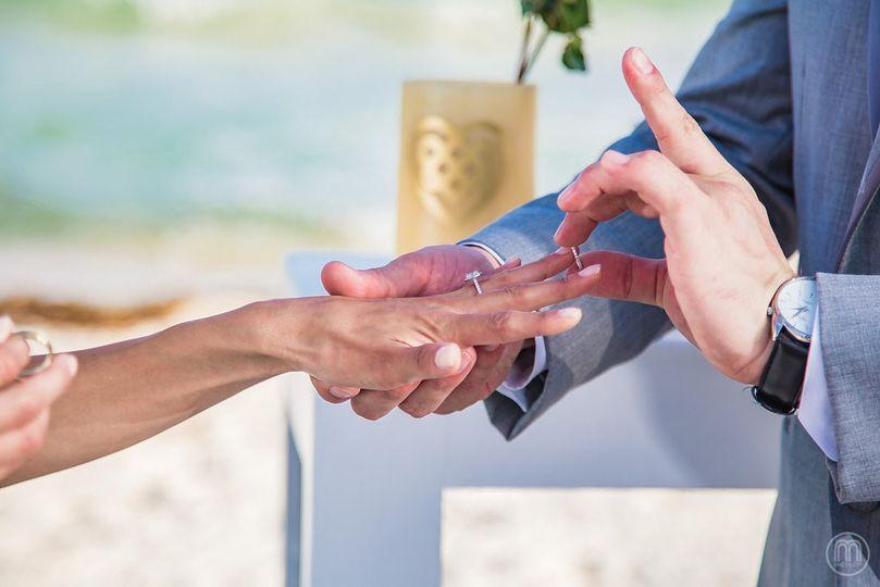 Wedding finger