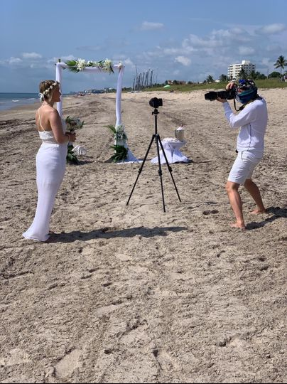 Wedding in Delray, FL