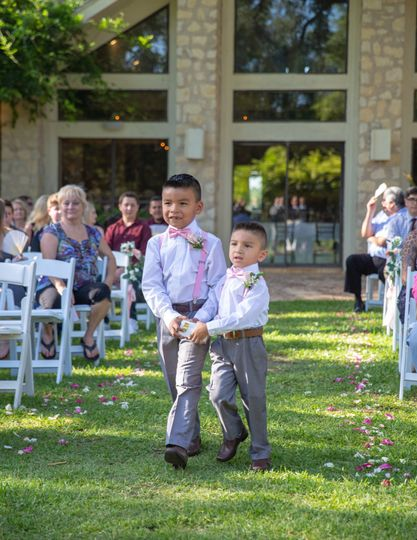 Co-ring bearers