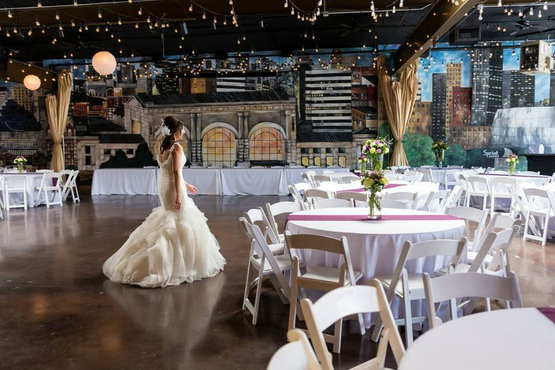 Bride at the  28 Event Space
