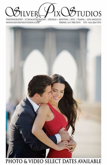 Engagement Session on the Brooklyn Bridge, NYC