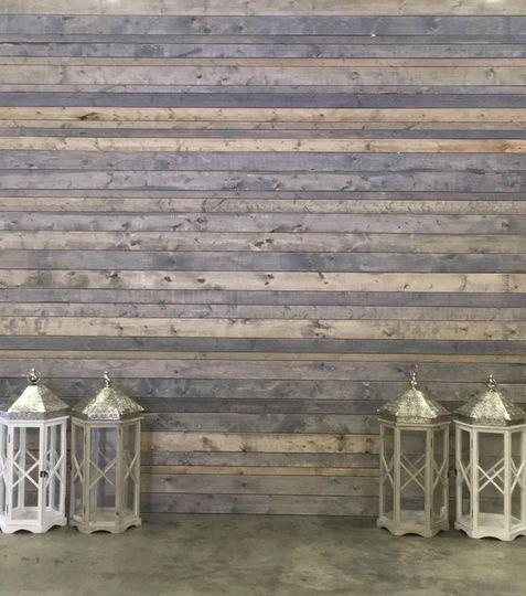 Custom backdrop for head table or photo wall. Lanterns. Indiana Weddings. Cincinnati Weddings.  The...