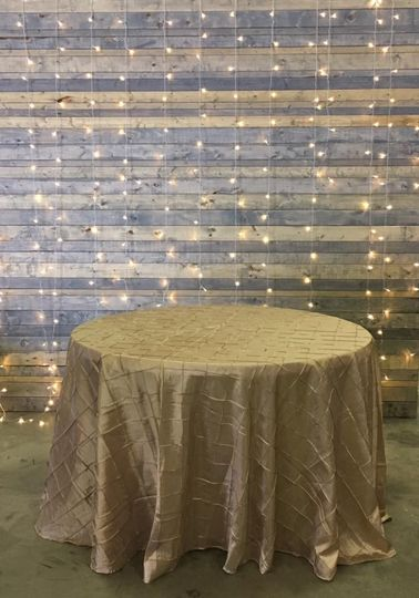 Shabby Chic lighted backdrop. Sweetheart table. Batesville, Indiana Weddings.  The Event Rental...