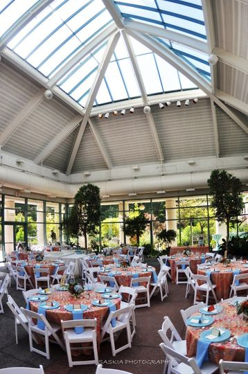 The Atrium At Meadowlark Botanical Gardens Venue