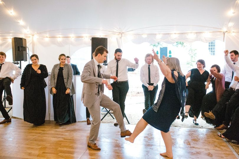 Family dance routine