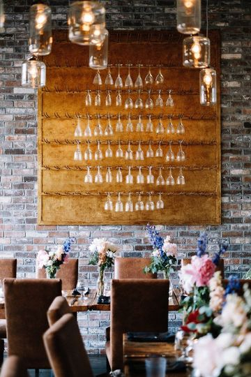 Tasting room decor