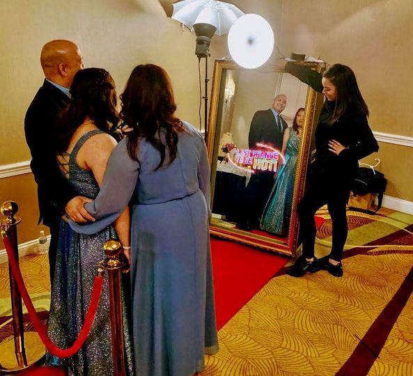 Magic mirror nj photo booth