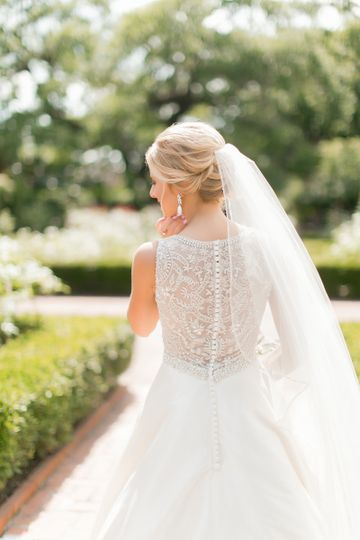 new orleans city park bridal photos