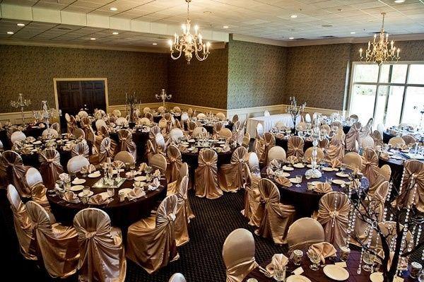 Charming wedding reception