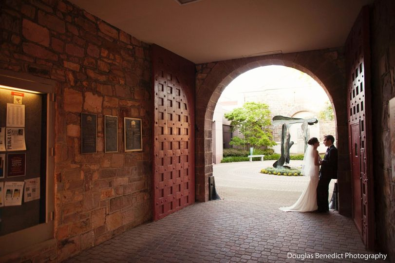 Small Backyard Wedding Doylestown Pa Wedding Photography: James A. Michener Art Museum