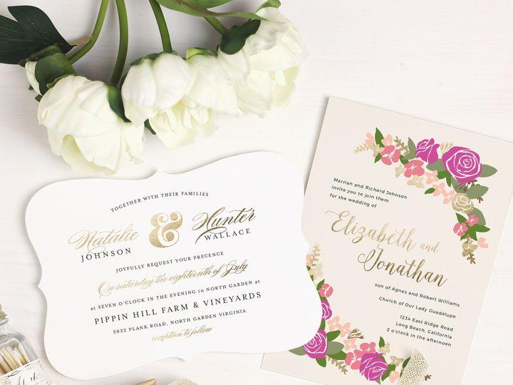 Tmx 1472504100536 Foil  wedding invitation