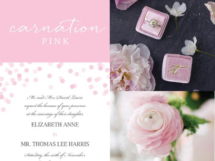 Tmx 1472510176924 Color Crush 11  wedding invitation