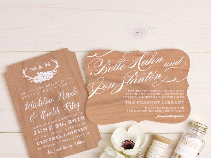 Tmx 1475773695847 Wood Cards  wedding invitation