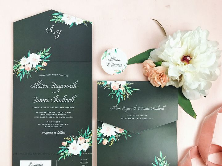 Tmx 1529433630 354a4e2178455584 1529433627 Ac0e7ff0232d3eb9 1529433622961 5 Photo Nov 14  4 32  wedding invitation