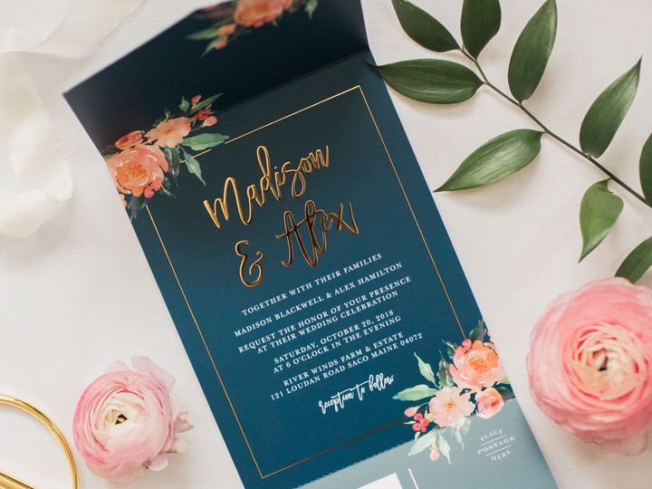 Tmx 1529437482 1e765ecede432128 1529437480 11f2a28576b4f379 1529437466642 7 AlyssaParkerPhotog  wedding invitation