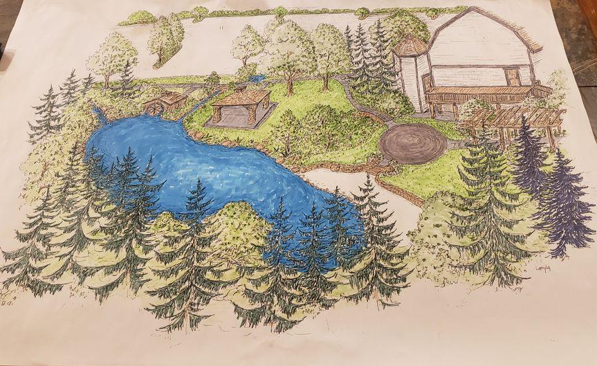 Landscape complete by July 21