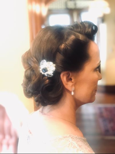 Hair by Rene 1940s
