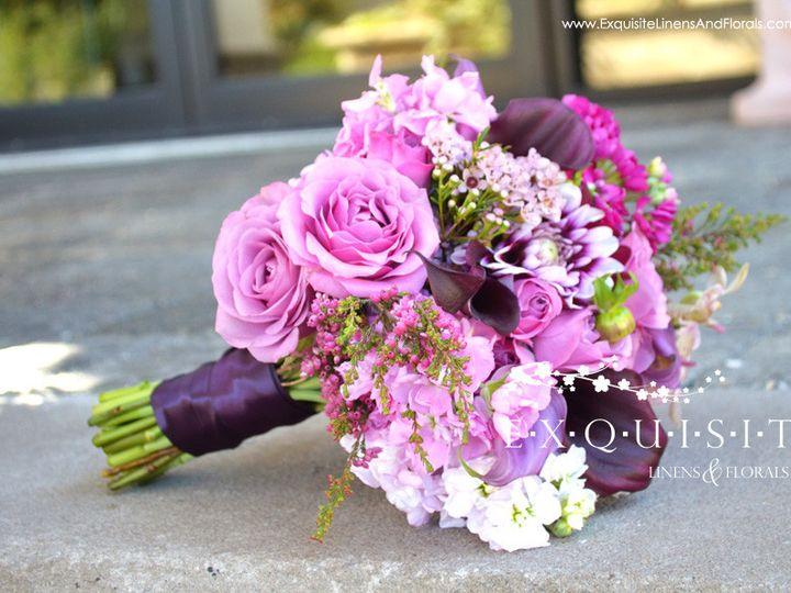 Tmx 1390233028152 Purple Bridesmaid Bouquet2 Log Windham wedding rental