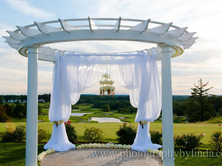 Tmx 1390233286256 Outdoor White Flower Draping Ceremon Windham wedding rental