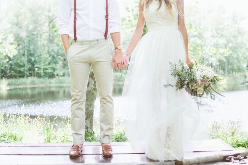 photo paper antler bash collective weddingwir