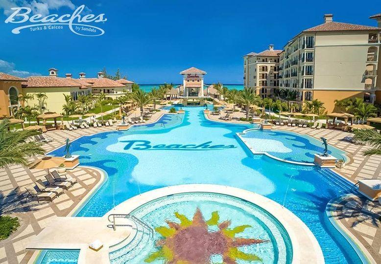 beaches turks and caicos pool