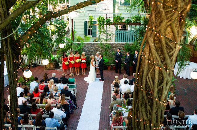 Ceremony In the Canopy Garden