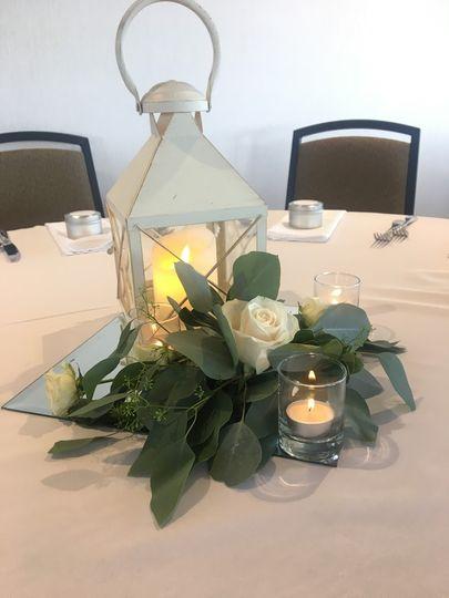 Lamp Shade Centerpiece