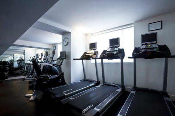 Donovan House Fitness Room