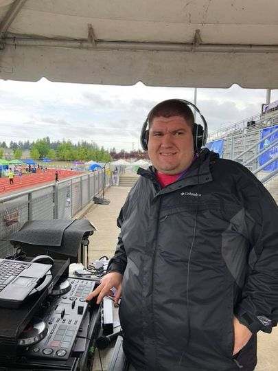 DJ for the relay