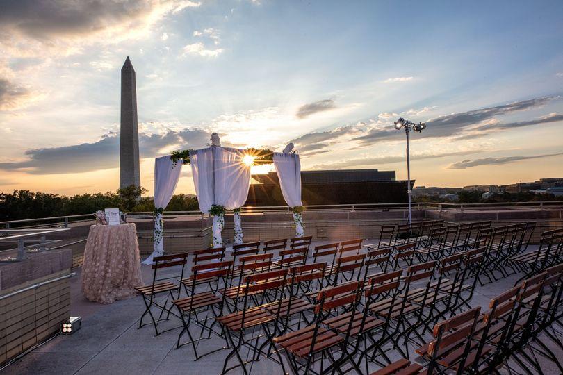 5th Floor Terrace- Ceremony