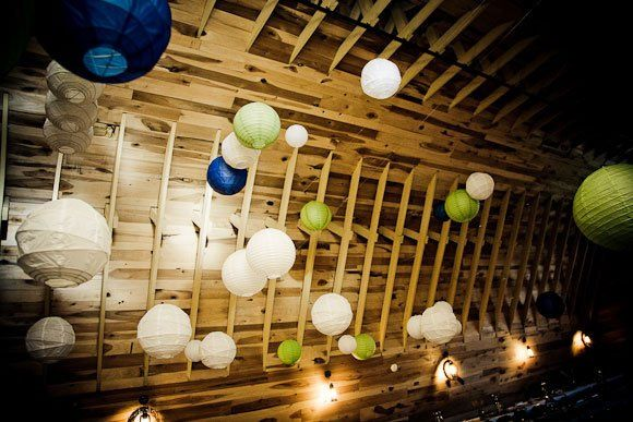 Sphere paper lanterns
