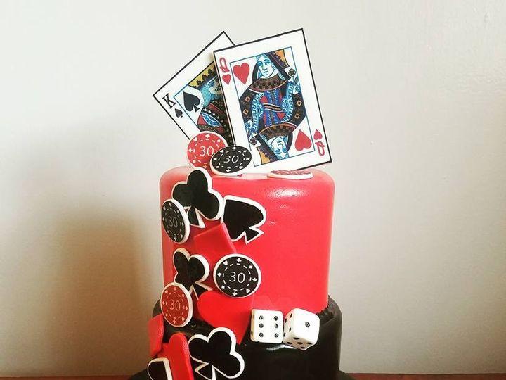 Tmx 1469310934441 Poker Fair Oaks, CA wedding cake