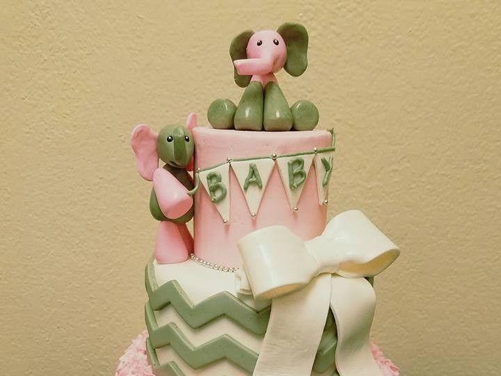 Tmx 1469310943904 Baby Elephant Fair Oaks, CA wedding cake