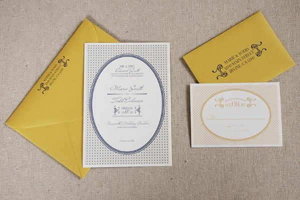 Taylor Signature Invitation Suite