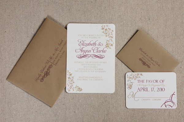 Mansfield Signature Invitation Suite
