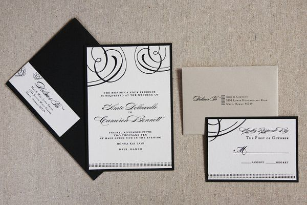 Hayworth Signature Invitation Suite