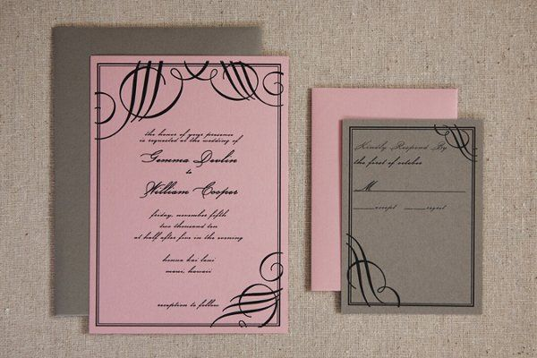 Garbo Signature Invitation Suite