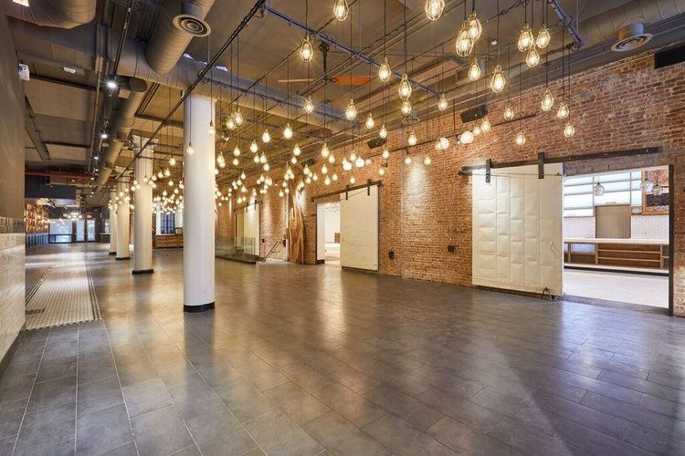Venue lights and doorways