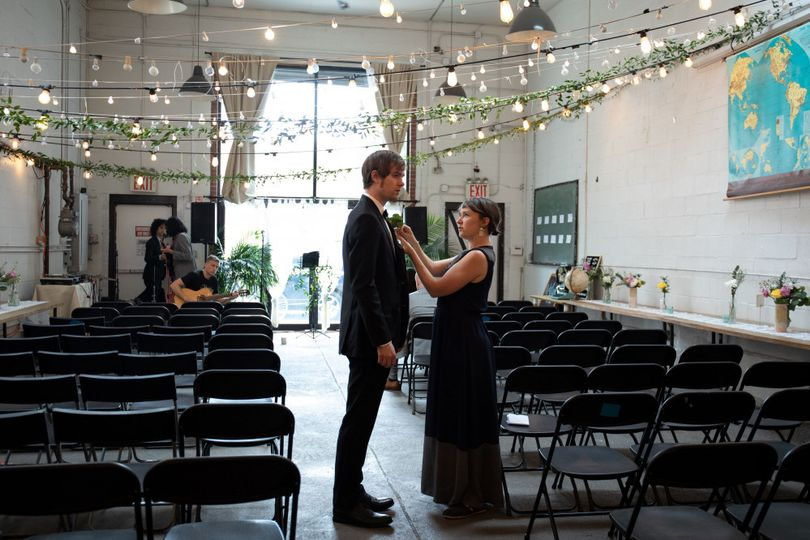 Bathaus Bushwick wedding