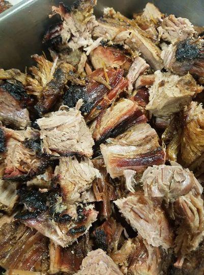 Smoky barbecue flavor