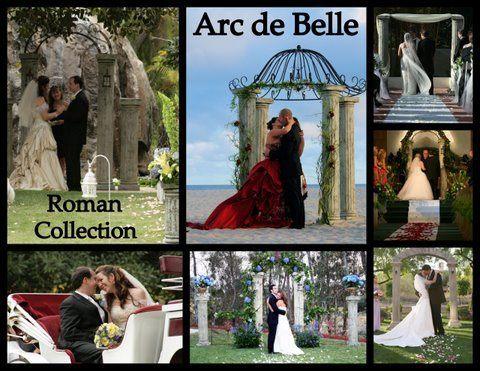Artistic Arch & Canopy Rentals by Arc de Belle - Roman Collection,Unique Architectural Wedding...